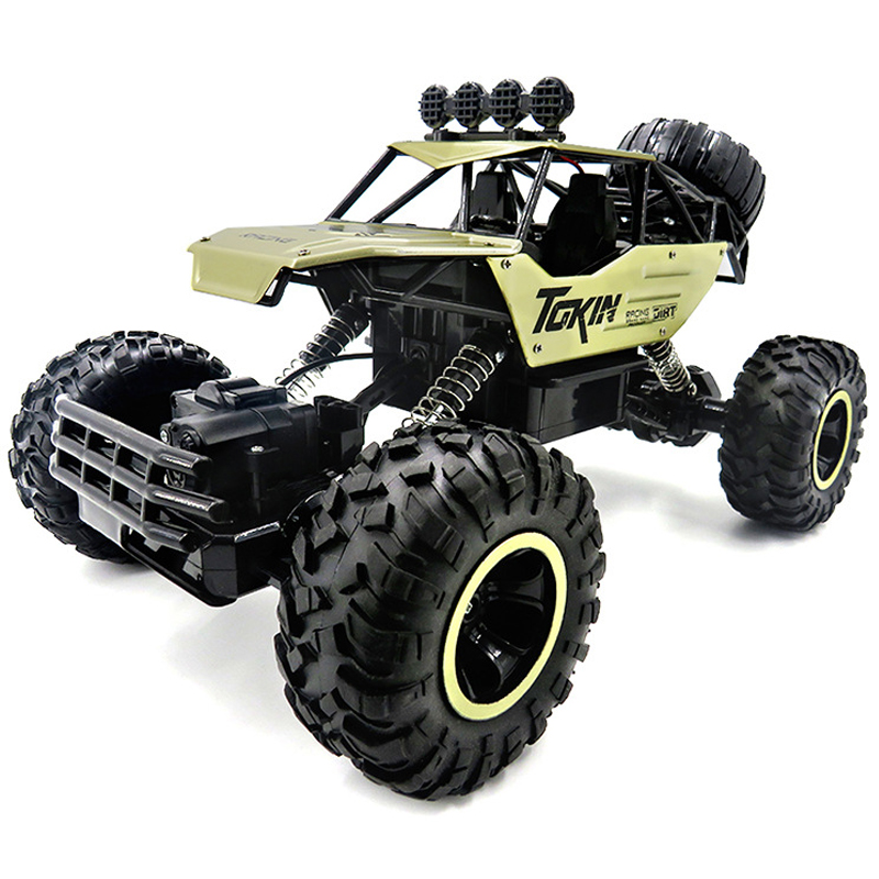 1:12 4WD Cars 37cm Alloy 2.4GHZ Radio Control RC Trucks Super Power Toy High Speed Trucks Off-Road Trucks Gift Toys for Children цена 2017