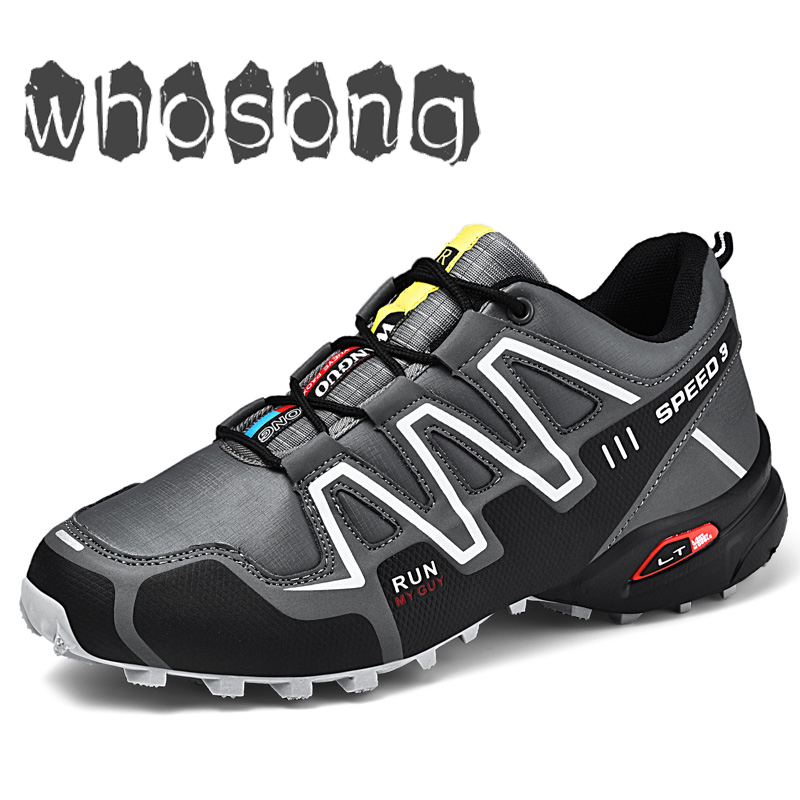 Outdoor-Sneakers Athletic-Shoes Trekking Sports-Boots Breathable Men for Zapatillas Hombre