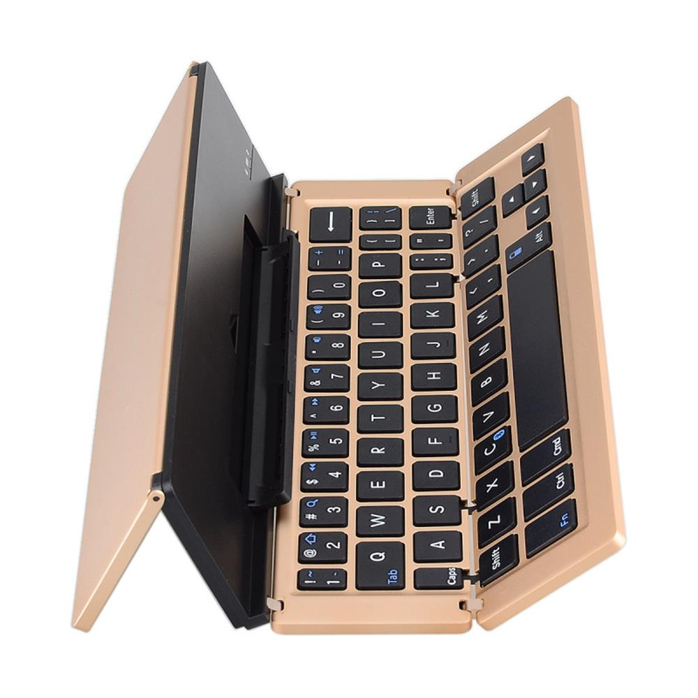 Folding Foldable Bluetooth Wireless 3.0 Keyboard for Tablet for iPhone 6s/iPad Pro/MacBook Mobile Phone Thirty percent fold