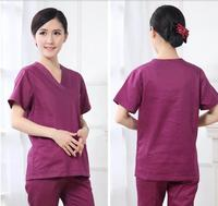 2016 Autumn High Quality Hairdresser Overalls Hairdressing Suit Beauty Salon Work Clothes Medical Scrubs Women Nurse