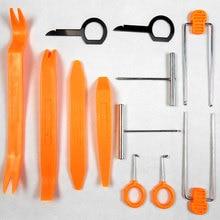 Kit profissional Inclui 12 Ferramentas Distintas para a Remoção e Instalação De Áudio Estéreo Do Carro