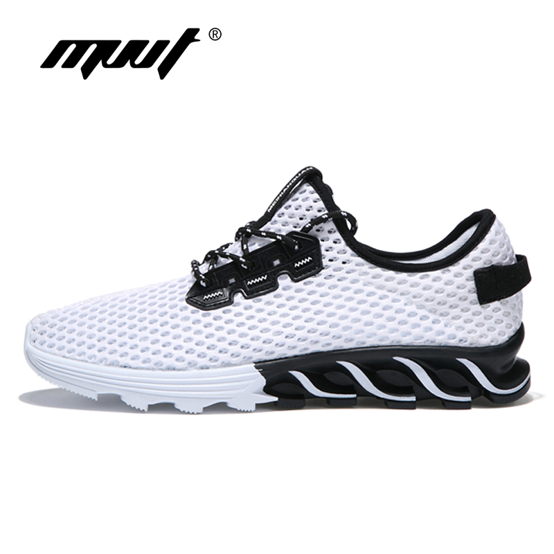 2018 Lightweight Men Running Shoes Breathable Mesh Summer Shoes Comfortable Men Sneakers Outdoor Sport Shoes Walking Shoes