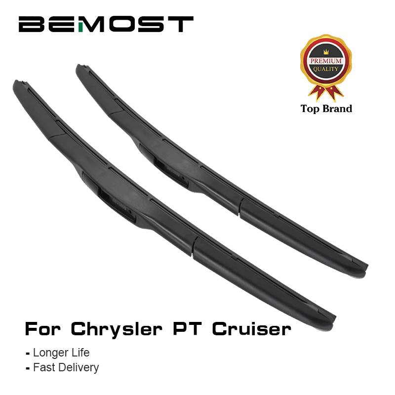 "2019 Fashion Bemost Car Front Window Windshield Wiper Blades For Chrysler Pt Cruiser 21""+21"",2000 To 2010 U Hook Auto Accessories Styling Lustrous"