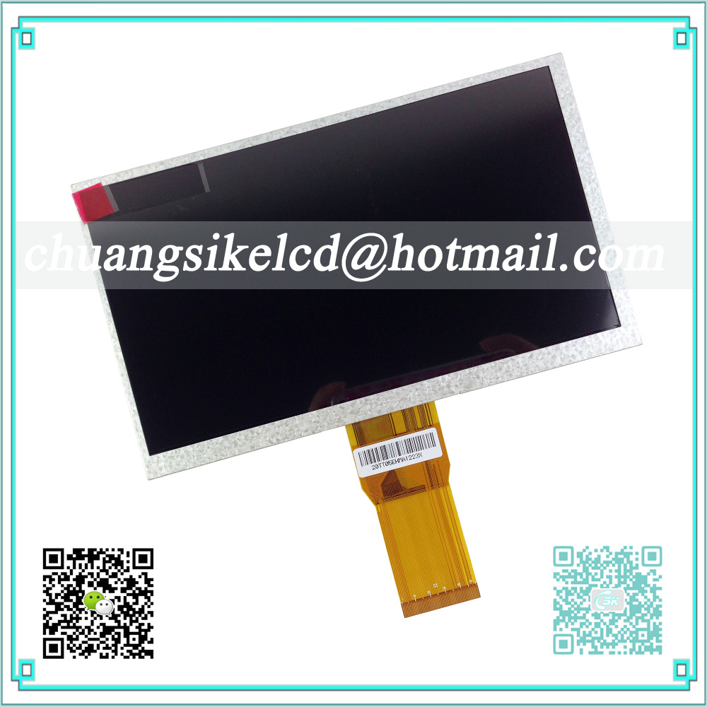 A+ LCD Screen Panel for 7 inch Tablet PC Newsmy n17 800*480 LCD Screen 7300101466 E231732 LCD Display 50 pin