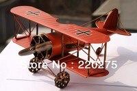 Nostaljik demir el yapımı uçak modeli/doğum günü hediyesi/ev dekorasyon/fotoğraf sahne
