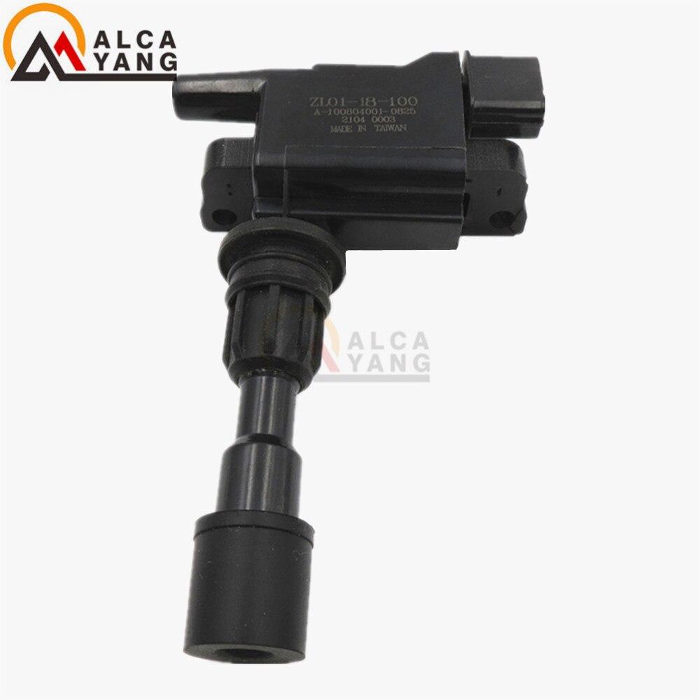 For MAZDA Miata 323 F 323 S 1.5 1.6 F/P S Mk VI (BJ) IGNITION COIL PACK ZL01-18-100 ZL01-18-100B ZL0118 100B ZL01 18 100