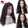 Full Lace Human Hair Wigs Curly For Black Women Virgin Brazilian Curly Front Lace Wigs Glueless Lace Front Human Hair Wigs
