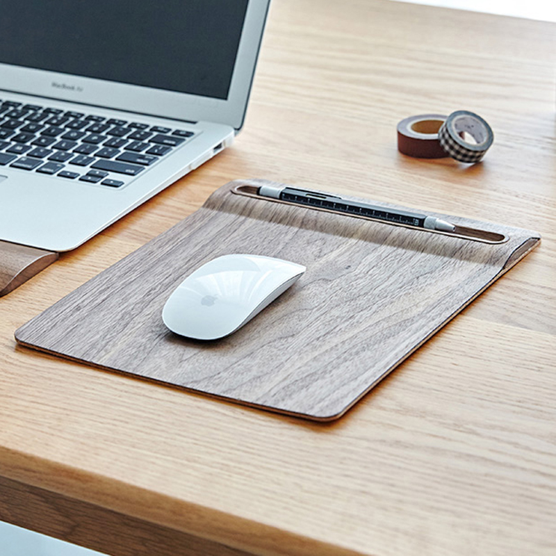 Japan Style Wooden Cork Mouse Pad Oversized Game Personality Big Creative Office Computer Mouse Mat