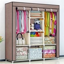 DIY Нетканая Складная портативная мебель для хранения, когда четверть шкаф, шкаф, мебель для спальни, шкаф для спальни