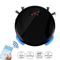 WiFi 2 In 1 Smart Robot Vacuum Cleaner Mop Home Floor Washing 280ML Water Tank And