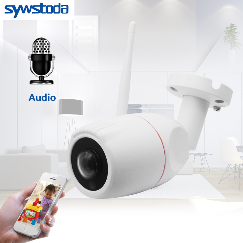 WIFI IP Camera 720P 960P 1080P Wireless Wired ONVIF P2P CCTV Bullet Outdoor Camera With SD Card Slot Max 64G hd 720p 1080p wifi ip camera 960p outdoor wireless onvif p2p cctv surveillance bullet security camera tf card slot app camhi