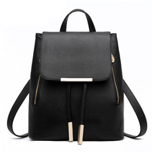 Women Backpack 2017 new tide girls backpack fashion casual Korean version of