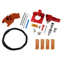 3D Printer Parts Spring Extruder Kit For Creality Cr 10S Pro Ender 3 Ptfe Replacement 3D Printer PETG Tube MK9 Silicone Case