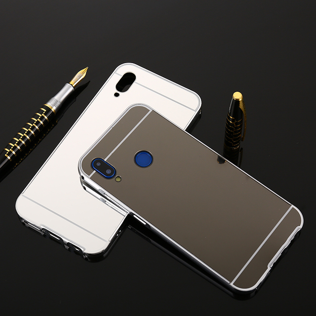 new arrival 697a8 7905e US $8.99 |For Redmi Note 5 Pro Mirror Case Aluminium Bumper Case For Redmi  Note 5 Pro Metal Mirror Phone Cover Metal Bumper Coque Fund-in Phone ...