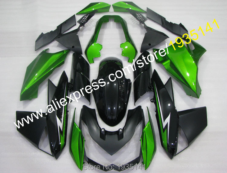 Hot Sales,For Kawasaki Z1000 body fairings 2010 2011 2012 2013 Z 1000 10 11 12 13 Green black Cowlings kit (Injection molding) отсутствует metal supply & sales 2010