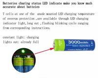 4 pc Etinesan 3000mWh AA baterii z ładowarką USB, litowo-polimerowa Lion Akumulator Li-po Litowo dla Bezprzewodowe słuchawki,