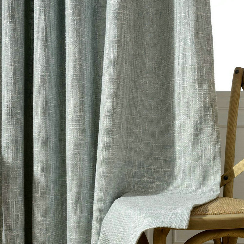 Modern Solid Linen Curtains For Living Room Blackout Drapes For Bedroom Red Jute  Curtain Fabric Window Treatments Shades Panels In Curtains From Home ...