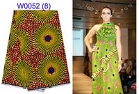 Precio al por mayor de áfrica ankara cera verdadera imprime la tela, 100% algodón tela de la cera africana para el vestido de costura A10-20
