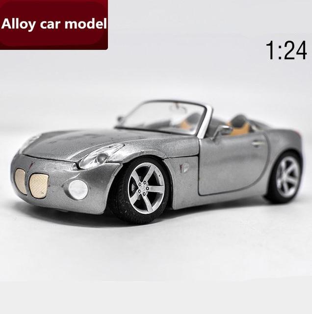 1:24 Advanced Alloy Car Models,high Simulation Pontiac Solstice Model,2 Open