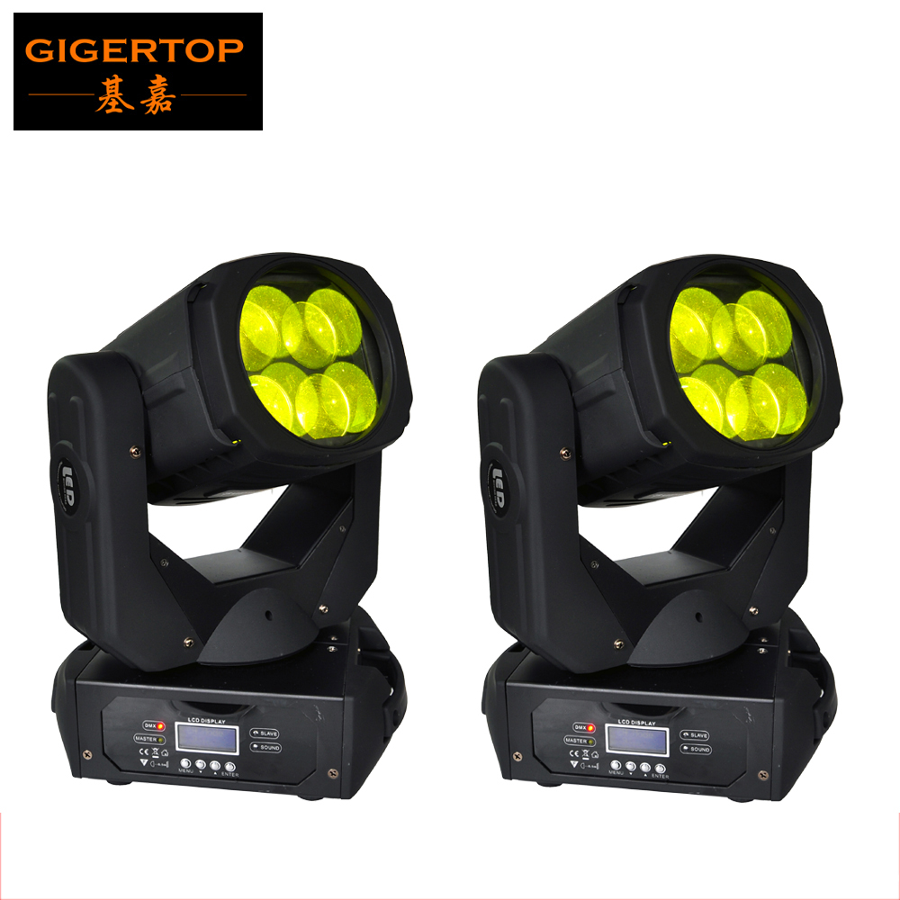 2XLOT Blizzard Nova 4x25W Colorful 130W LED Super Beam Moving Head Light For Disco Nightclub DJ Bar Gobo Beam led stage light chauvet dj beam bar