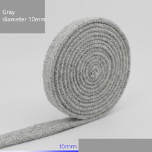 Diameter 10mmX10M color thickening environmental protection flat hollow cotton rope handmade creative DIY craft