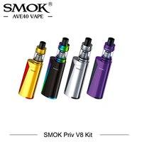 In Stock 60W Electronic cigarette Smok Priv V8 Starter Kit Priv V8 Mod With Smok TFV8 Baby Tank Atomizer Vaporizer cigarettes