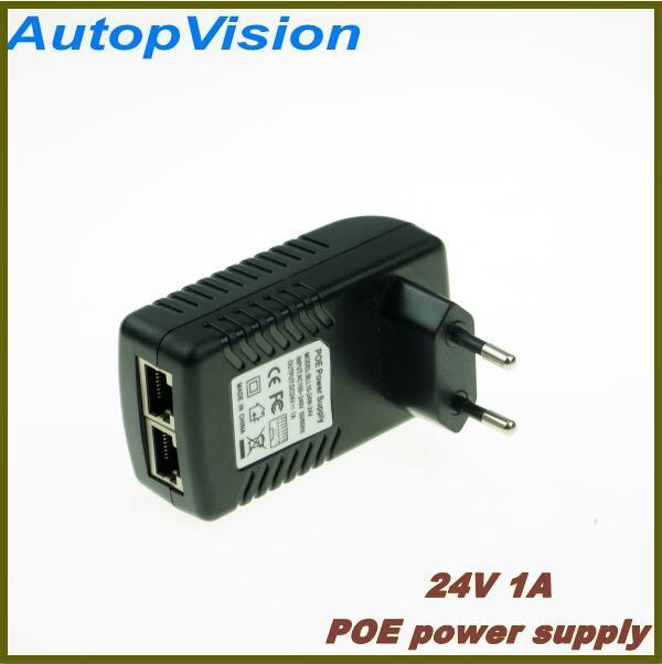 10 Pack Lot Power over Ethernet PoE Adapter Injector Splitter Kit 5v 12v 24v 48V