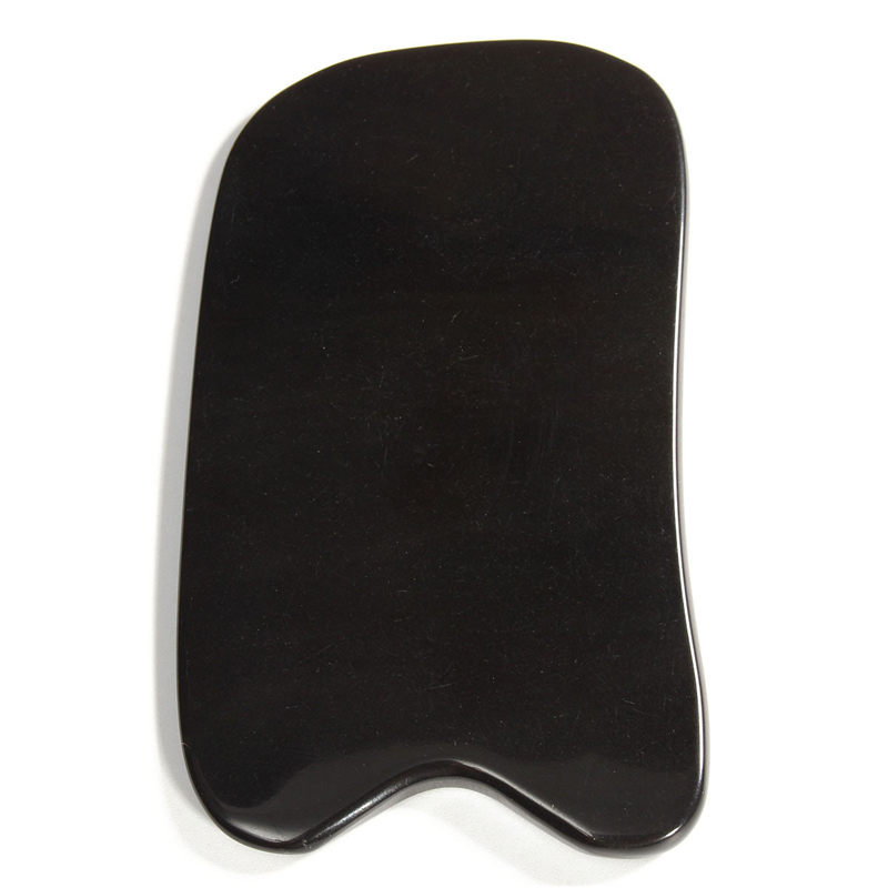 High Quality Natural Gua Sha Board Black Buffalo Horn Scraping Healthy Massage Cure Beauty Tool снуд buff buff bu023guyfp33