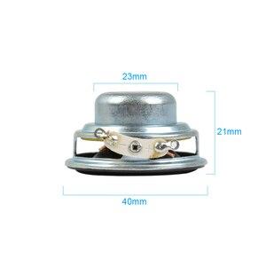 Image 4 - Aiyima 2 Pcs 5W 40 Mm Mini Audio Draagbare Luidsprekers 16 Core 4Ohm Full Range Speaker Rubber Side Ndfeb magnetische Luidspreker