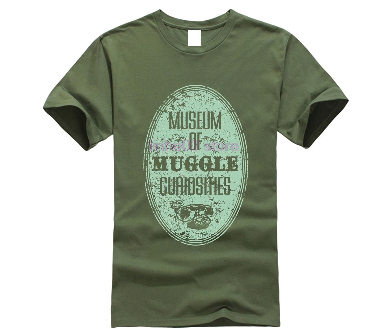harry men shirt Museum of Muggle Curiosities T-Shirt (2) potter top tee 18