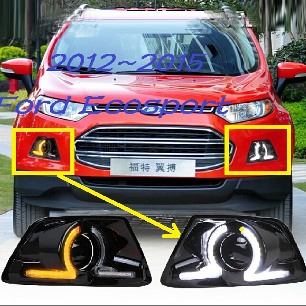 For Ecosport daytime light;2012~2016,Free ship!LED,Ecosport fog light,edge,kuga;Ecosport for rapto f 150 daytime light 2013 free ship led f 150 fog light ecosport kuga f 150 fog lamp heritage daytime light