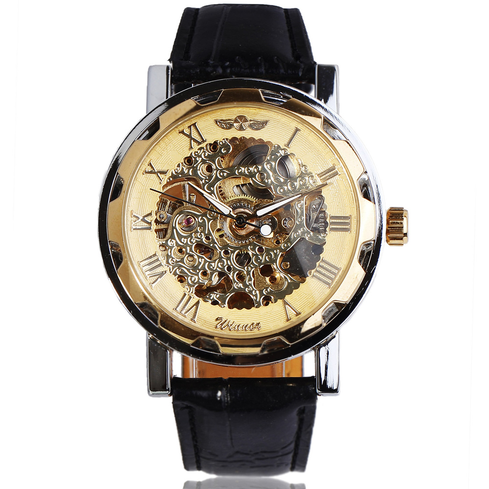 aliexpress com buy 2016 new winner fashion men automatic aliexpress com buy 2016 new winner fashion men automatic mechanical leather strap watches r carving skeleton dial formal relogio masculino from