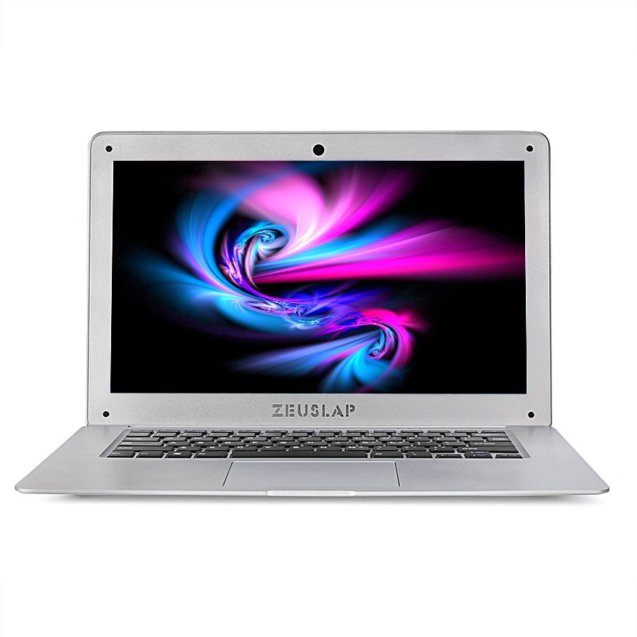 ZEUSLAP 14inch 8gb ram 64gb ssd 500gb hdd Intel Pentium win10 1920X1080P FHD cheap Notebook Computer pc Netbook Laptop