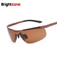 Aluminum Magnesium Sunglasses Man Polarized Light Mirror Driver Mirror New Sun Glasses oculos de sol gafas