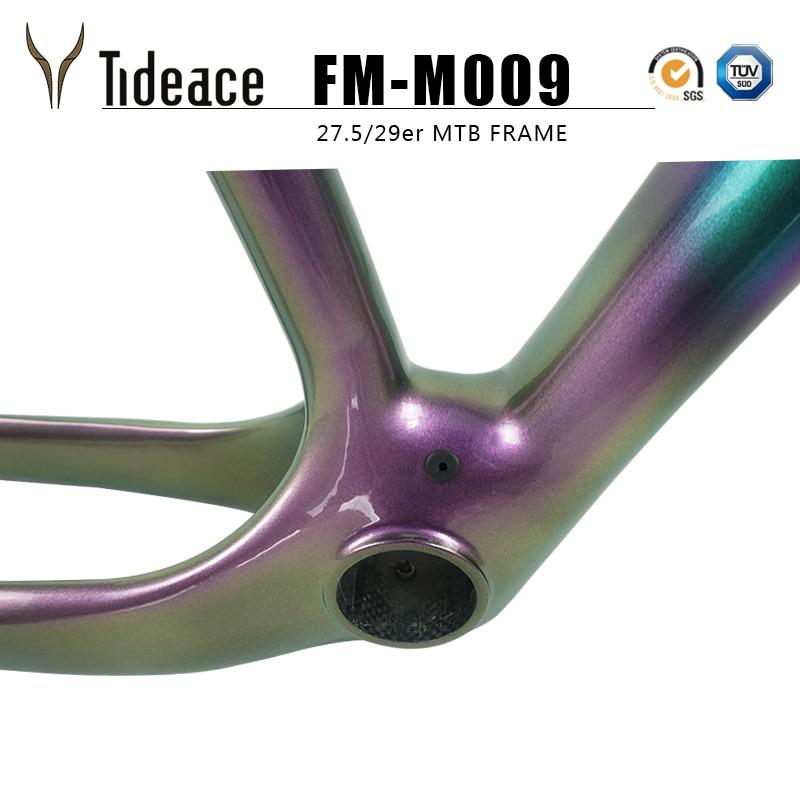 29er/27.5er camaleón color mezclado Carbon Mountain Bike MTB 27,5 ...
