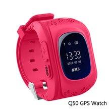 ใหม่ล่าสุดสมาร์ทเด็กนาฬิกาQ50เด็กปลอดภัยGPS Watchนาฬิกาข้อมือSOSสถานที่ตั้งFinder L Ocatorติดตามสำหรับเด็กต่อต้านหายไปตรวจสอบ
