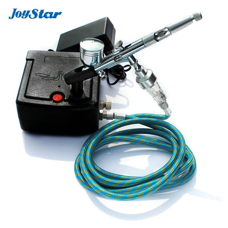 Высокое качество двойного действия Воздушный компрессор Полный комплект с фильтром хобби