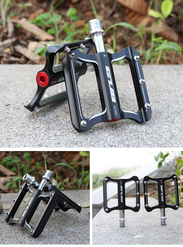 Image 5 - GUB CNC Aluminum Alloy Mountain Bike MTB Pedals Road Cycling DU Sealed Bearing Bicycle Pedals UltraLight Bike Pedal Parts-in Bicycle Pedal from Sports & Entertainment