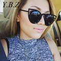 YBZ GIRL 2017 New Women Sunglasses Vintage Cat Eye Sun glasses Metal Eyeglasses Frames Mirror Shades Sexy Sunnies STY-7ME017