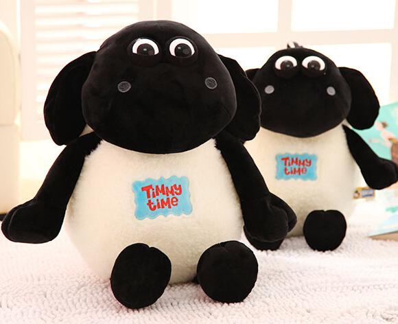 Gift for baby 1pc 30cm cartoon cute sheep Timmy Time plush hold doll novelty girlfriend birthday stuffed toy