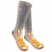 Холодная погода носки с электроподогревом для хронически холодных ног Гари, 2,4-3 в Подогрев носки батарея