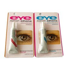Lash Glue Eyelash Adhesive Eyelash Glue Waterproof False Eyelash Accessories Blue/red Drop Free Shipping клей для ресниц duo eyelash adhesive dark lash adhesive объем 14 г 14 мл