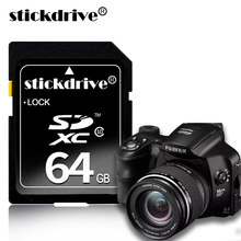 Stickdrive Brand SD Card 8GB 16GB 32GB 64GB 128GB Real Capacity SDXC SDHC Memory Card High Speed Memory SD Card For Camera(China)