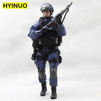 1/6 Scale US Army Special Forces SWAT 2.0 Men Special Police Male Clothes Clothing Set F 12 Action Figure Male Body