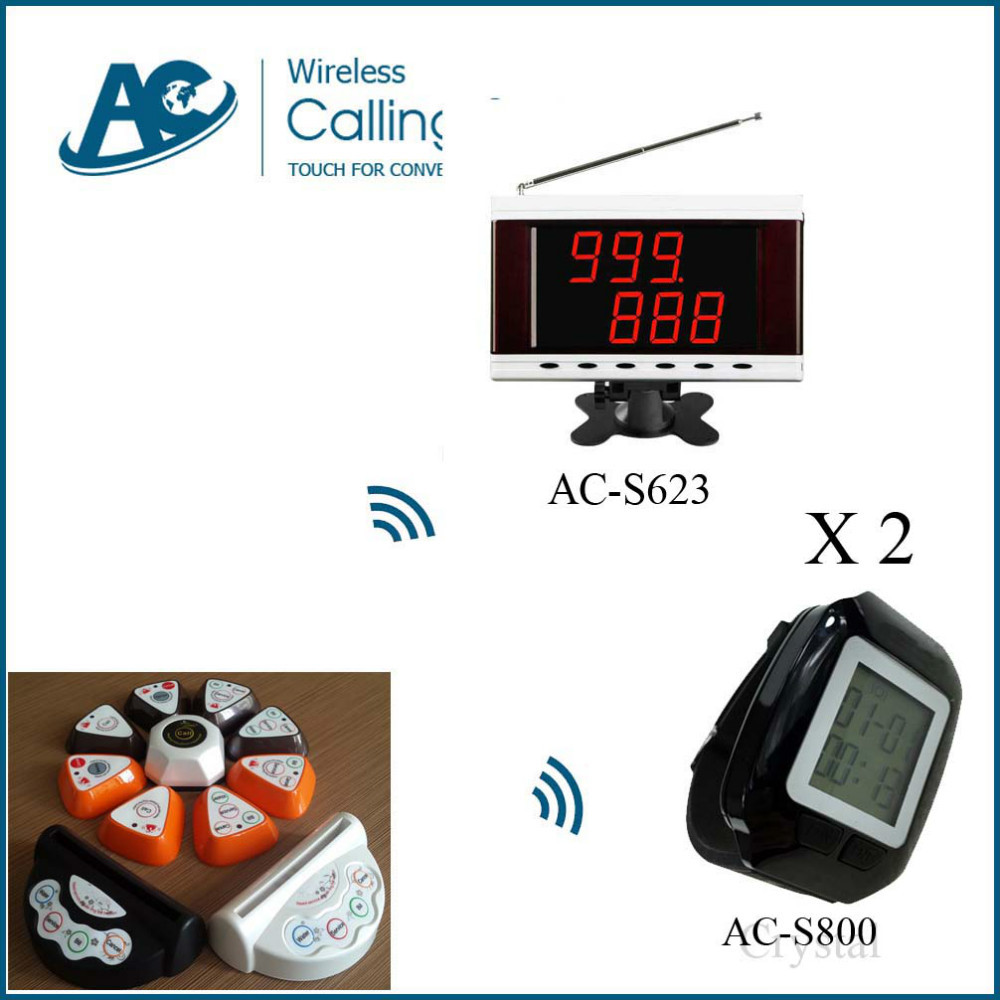 2 watch 11 table call 1 display electronic bell system Restaurant & Hotel Supplies restaurant service bell table call bell