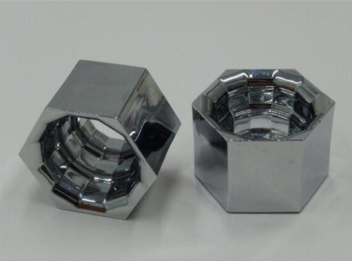 OUKR-20.3  New High Quality Hexagon Reflective Cup, Size: 20.3X17.7X12.7mm, Clean Surface, PC Materials, Aluminum Coating