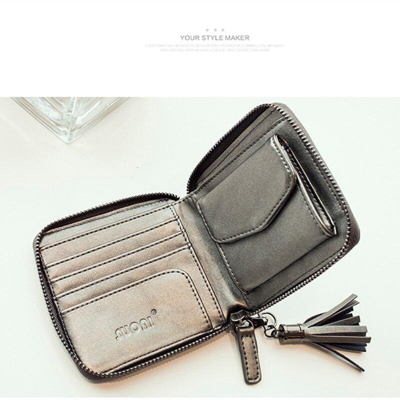 marca de moda carteira 2017 Interior : Coin Pocket, note Compartment, suporte de Cartão