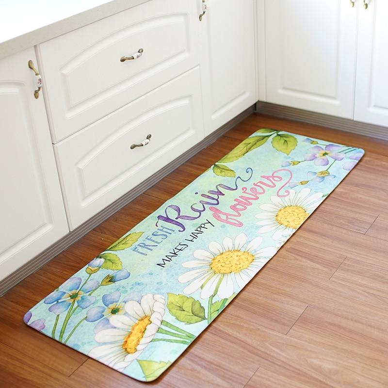 55x160CM Kitchen Floor Mat Home Entrance Door Mats Water ...