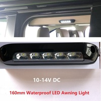 Waterproof LED Awning Annex Light 12V DC Exterior Bar RV Camper Trailer Heavy duty off road Motorhome Caravan Interior Wall Lamp