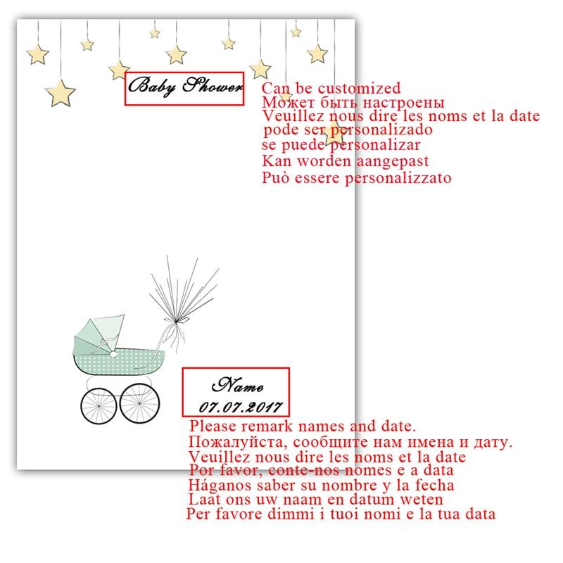 Erfreut Baby Dusche Fotorahmen Bilder - Benutzerdefinierte ...